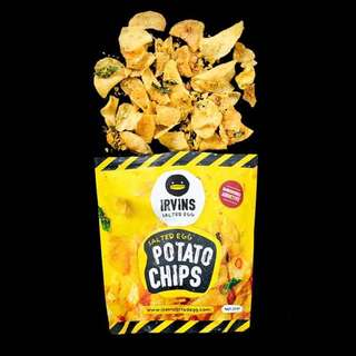 Irvin Salted Egg Chips, Garett, PO Sg