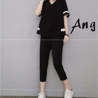 🚚 全新現貨L🎀韓版休閒套裝運動套裝