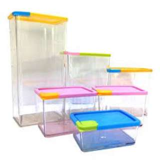 Pocket Container Stackable