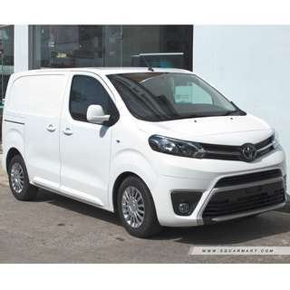 (Sell) New Toyota Proace 1.6M & 2.0M 2017 Euro 6