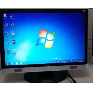二手出清 奇美 CMV 937A 19吋 LCD 16:10 寬螢幕 (內建多媒體喇叭)