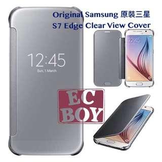 Samsung S7 Edge Clear View Cover #三星 #samsung #Clear #Case #Cover #機殻 #原裝 #original #S7