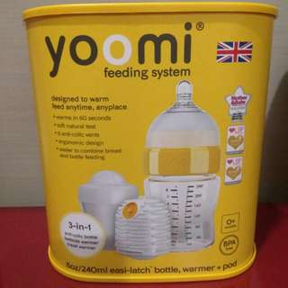 Brand New In Box Yoomi Self Heating Warmer Great For NIGHT FEEDS