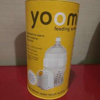 Yoomi Brand New In Box Bottle With Warmer (smaller Bottle)