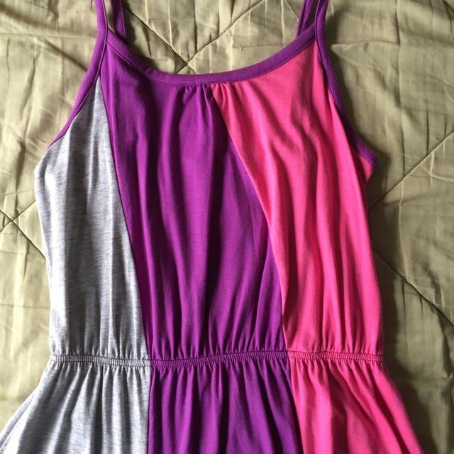 3 Colour Dress