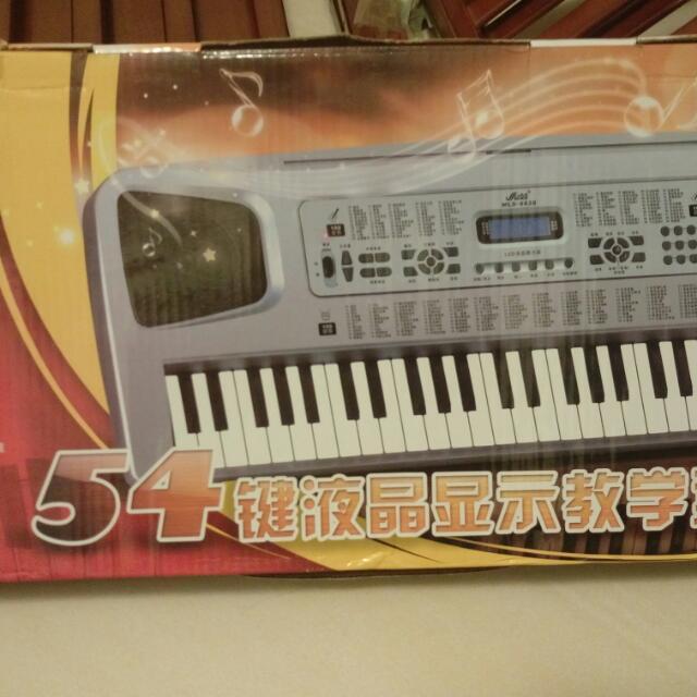 54鍵教學型電子琴