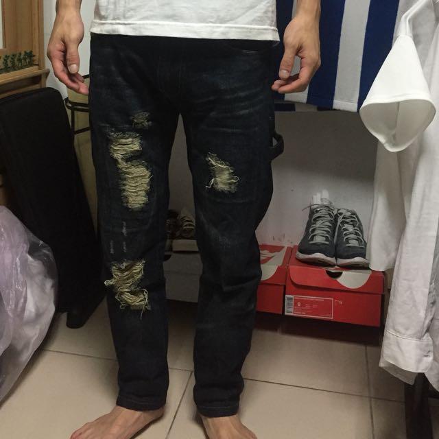 破壞牛仔褲