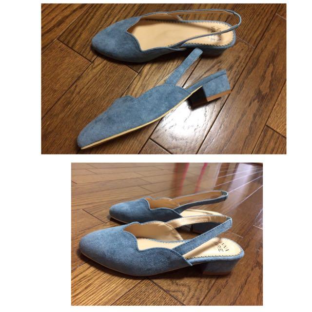 日本購入~穆勒鞋/花邊低跟涼鞋