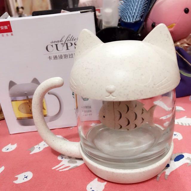 貓咪泡茶壺