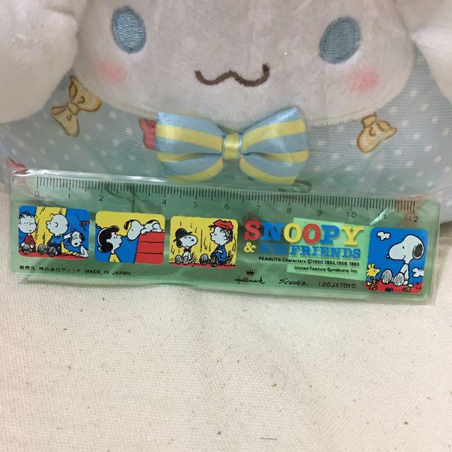 史奴比 Snoopy 尺/直尺 (日本製)