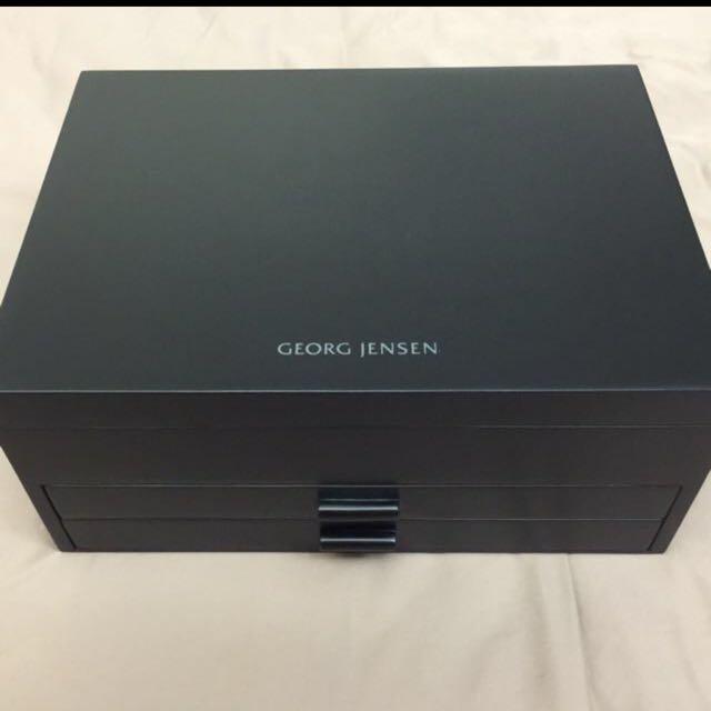 喬治傑生 Georg Jensen 原廠限量木製珠寶收藏盒