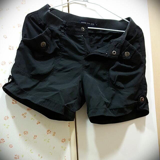 <買就送> HANG TEN 黑色短褲