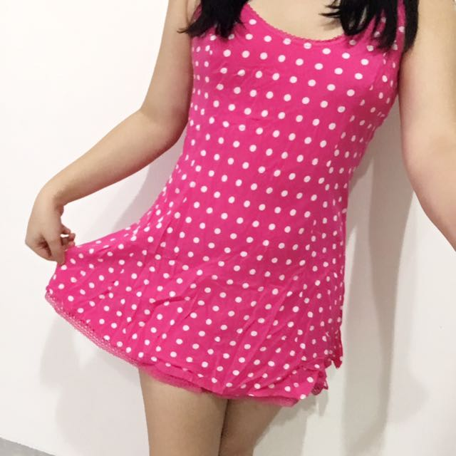 Abercrombie & Fitch Pink Sundress