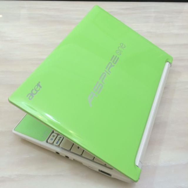 Acer 10.1吋 Aspire one Happy 蘋果綠 N550