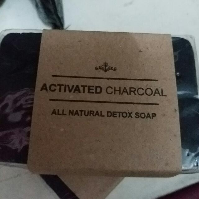 Activated Charcoal Soap 💞
