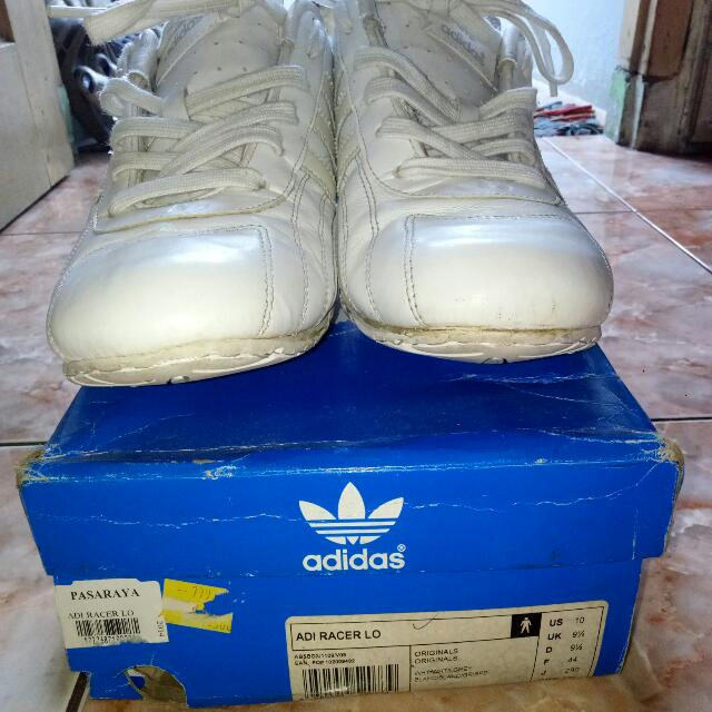 Adidas Goodyear Racer Lo Sz 44 US 10 UK 9 1/4