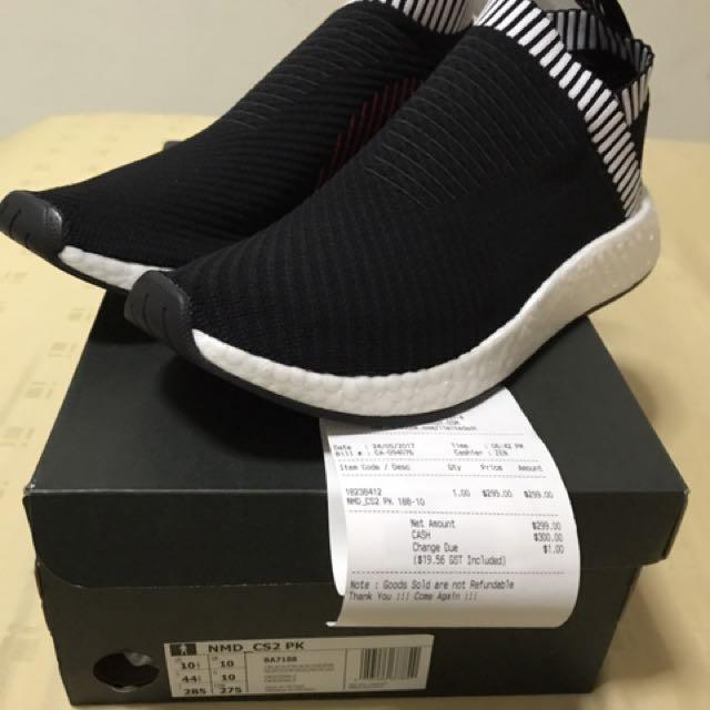 8512f18e5083c Adidas NMD CS2 Black Pink