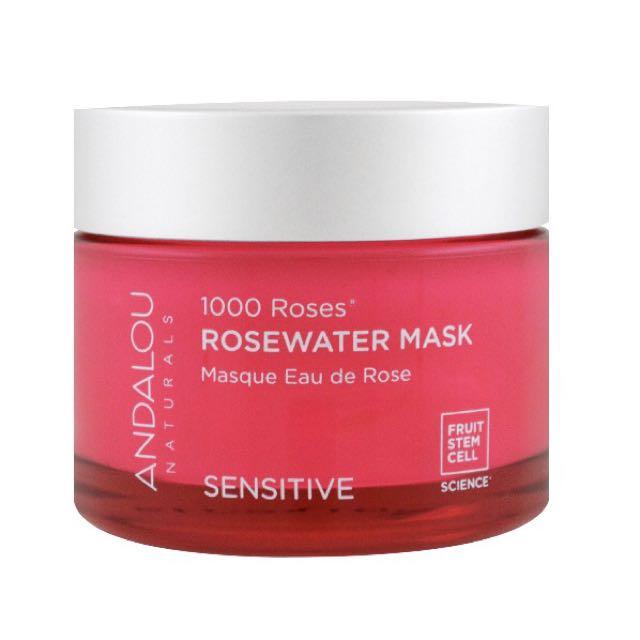 andalou naturals 1000 roses rosewater mask 玫瑰水面膜