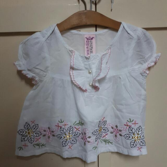 Authentic Guess Girls Top