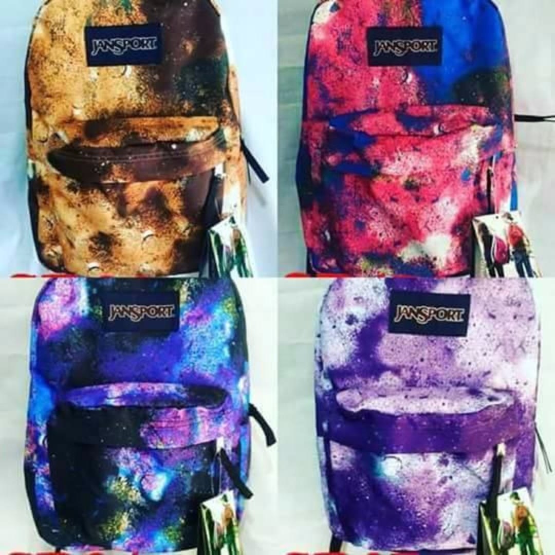 Authentic JanSport  Back Pack! (with Leather Bottom)
