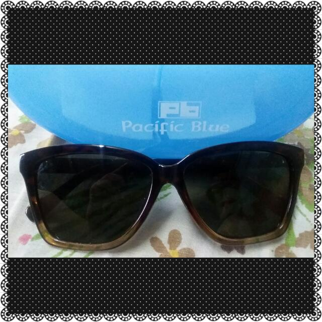 Auth.Pacific Blue Polarized Shades
