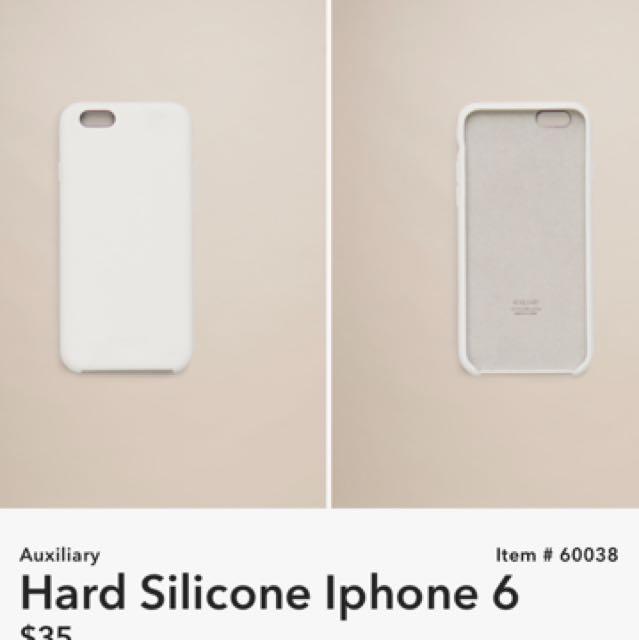 Auxiliary Silicone iPhone 6 Case- Aritzia
