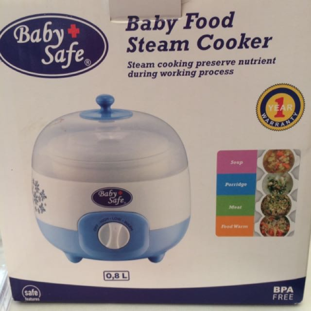 Baby Safe Food Steamer