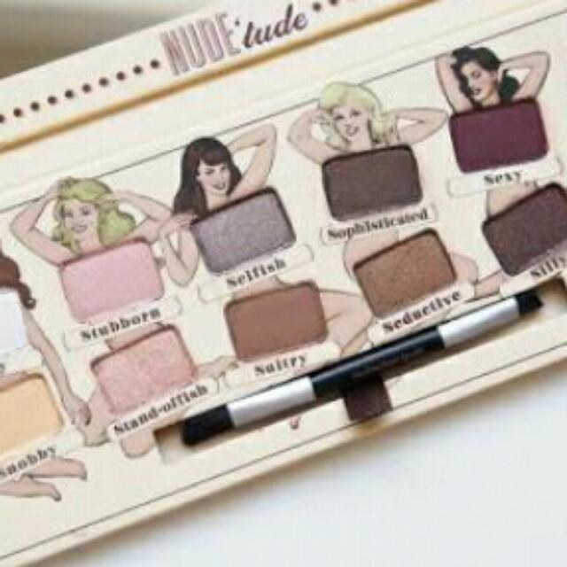 Balm Tude Eye-shadow Palette