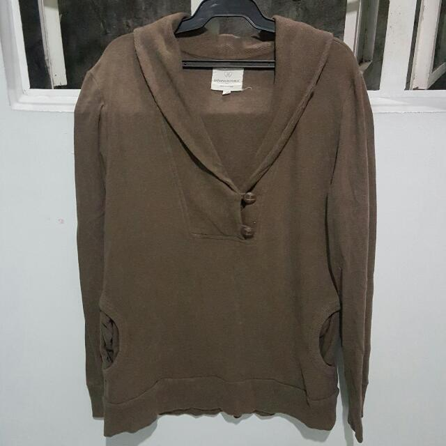 Banana Republic Brown Sweatshirt