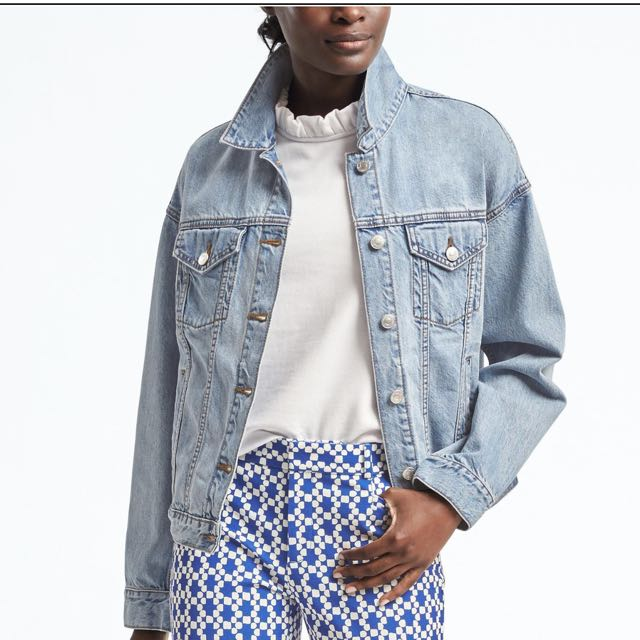 Banana Republic Denim Boyfriend Jean Jacket