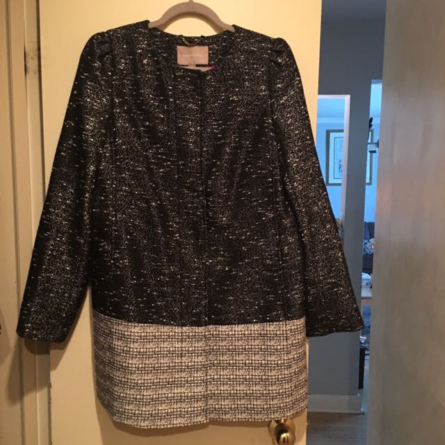 Banana Republic Tweed Coat