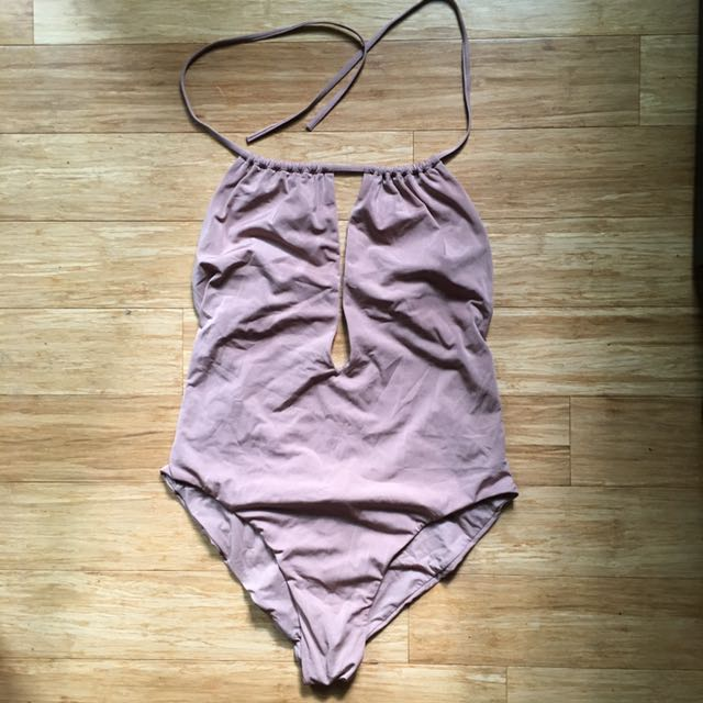 Beige/Pink Zara Swimsuit