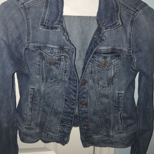 Blue Denim Garage Jean Jacket