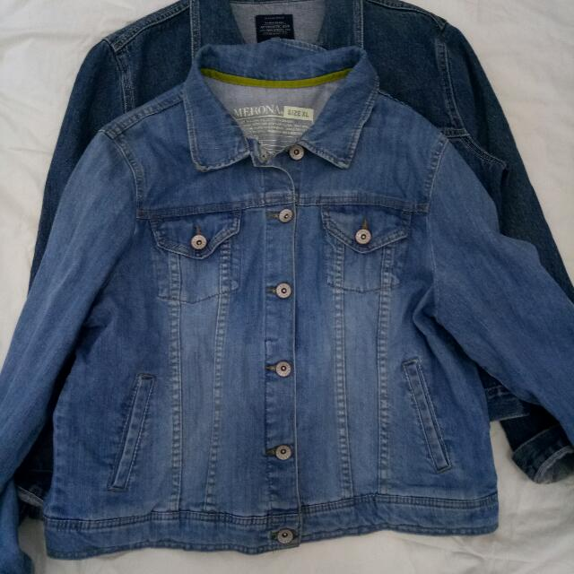 Blue Denim Oversize