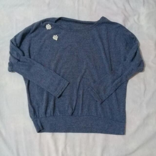 Blue Sweater - Small