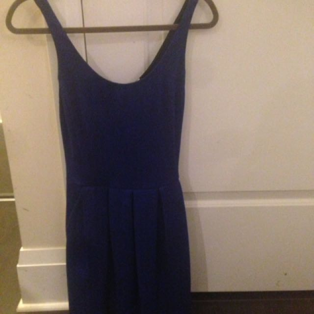 Blue Wilfred Dress With Pockets