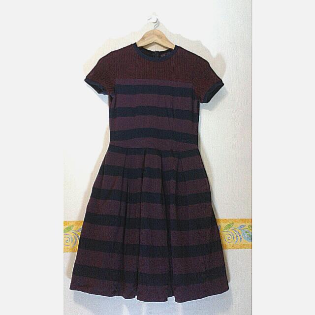 BLUED Stripes Dress