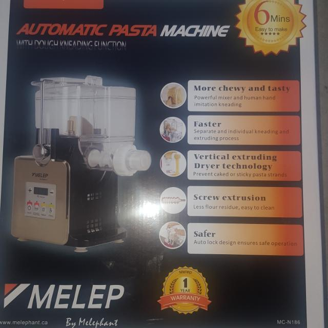 BNIB Melep Automatic Pasata Machine