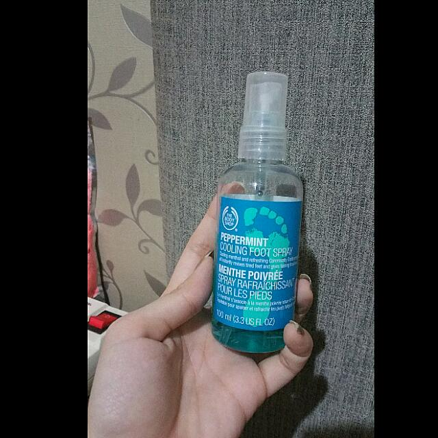 Bodyshop - Peppermint Cooling Food Spray