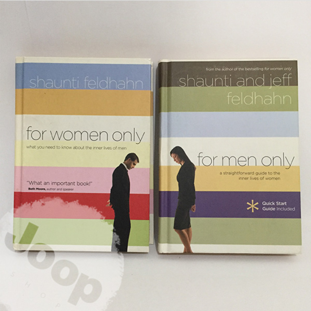 Buku For Women Only & For Men Only SET ---IMPORT---
