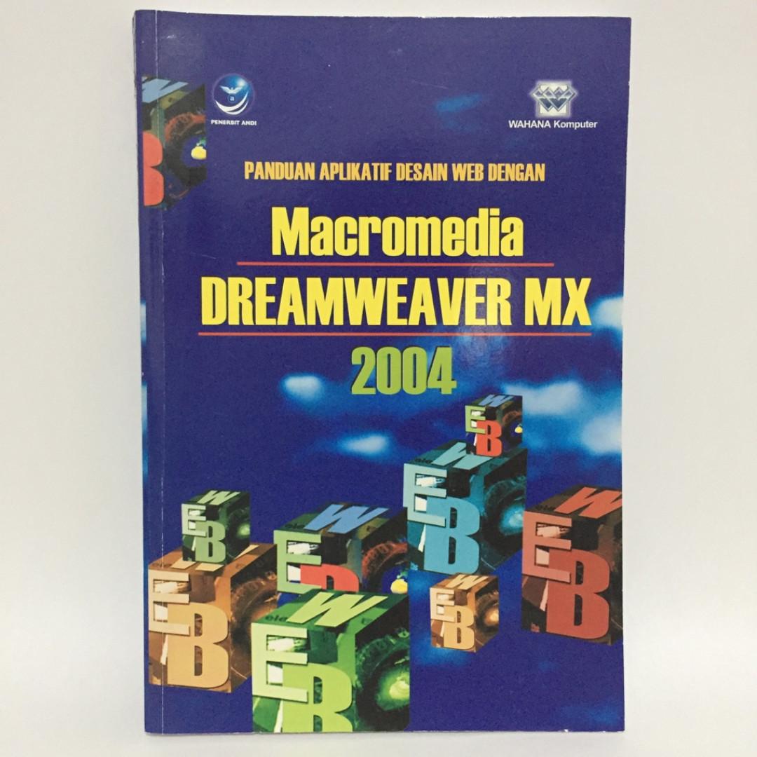 Buku Macromedia Dreamweaver MX 2004