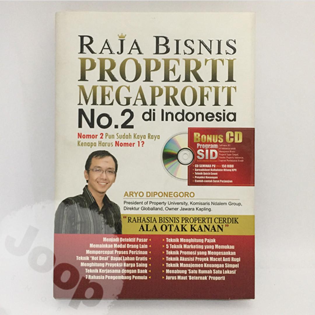 Buku Raja Bisnis Properti Megaprofit No. 2 di Indonesia