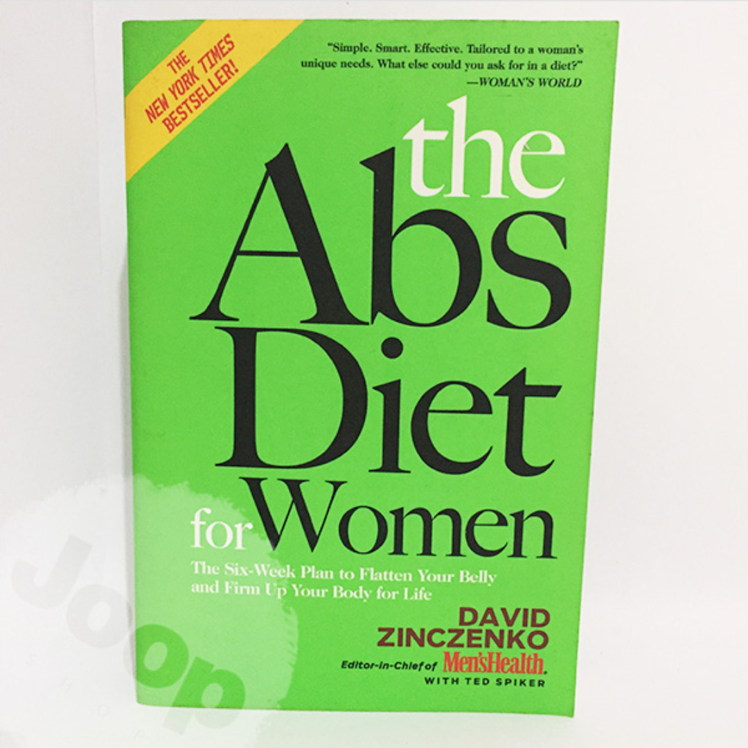 Buku The Abs Diet for Women ---IMPORT---