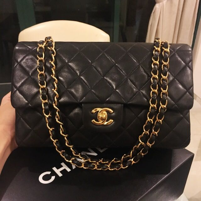 0fd32a9e797855 Buyer's Order: Authentic Chanel Medium 10 Inch Classic Double Flap ...