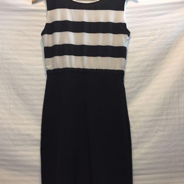 Celine Stripe Dress