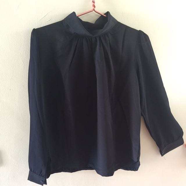 Cerutti Turtle Neck Blouse