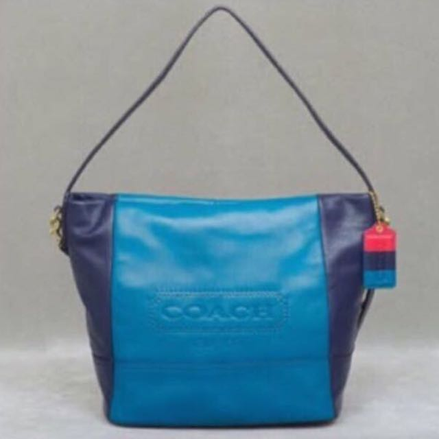 Coach Colorblock Tote