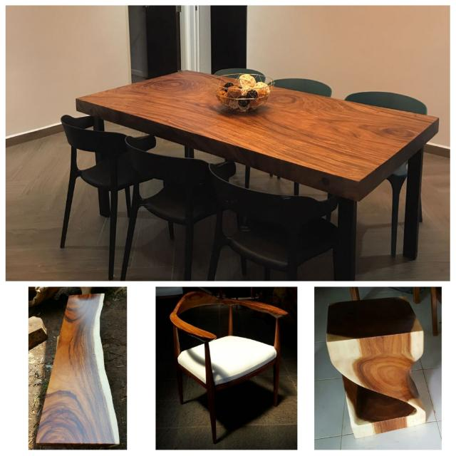 Collectif Designs Suar Wood Table