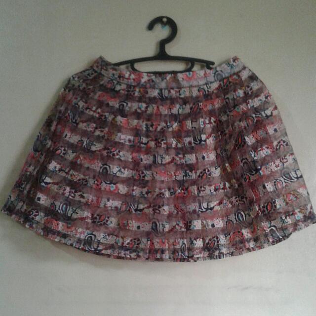 Dirndl Round Skirt