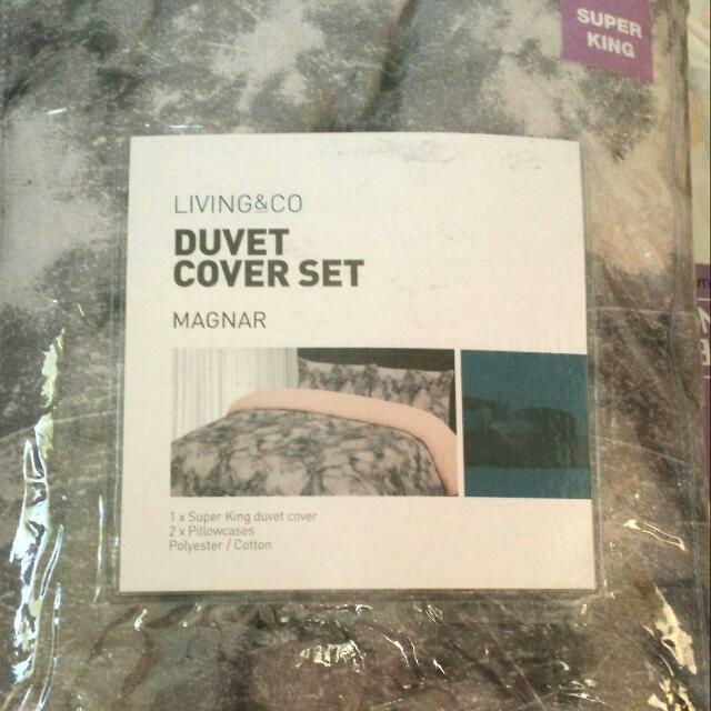 Duvet + Cover Set